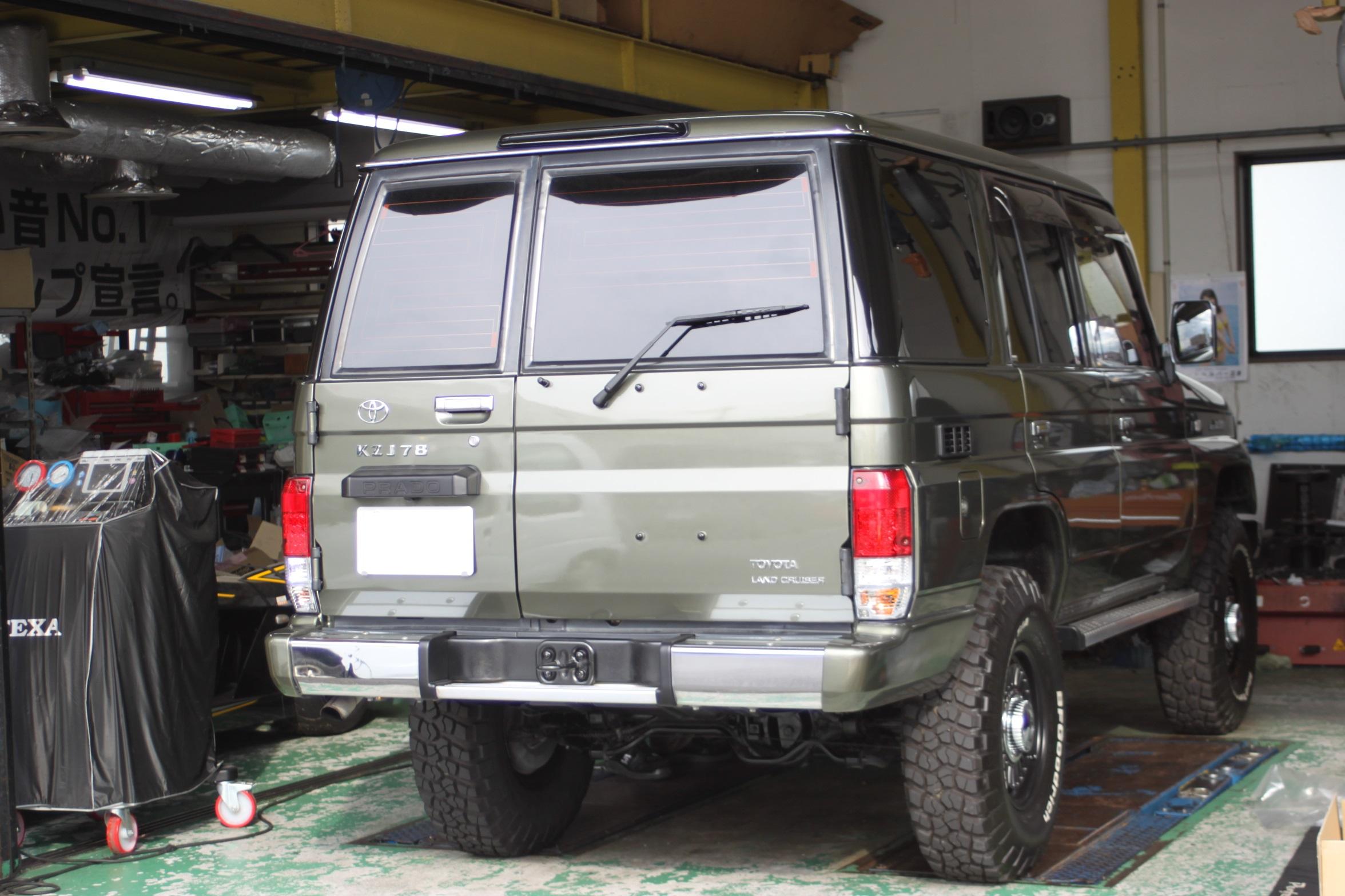 トヨタ ランドクルーザー SR-7F KK100